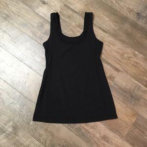 Lululemon Black Mesh Tank Top Size 10